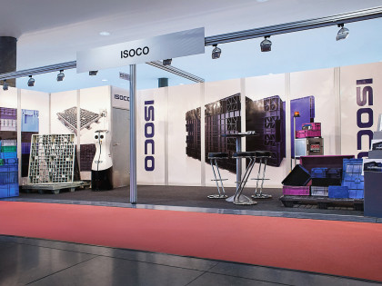 ISOCO / ALPINA introduces High-load Light-weight Pallets at the Logimat 2017